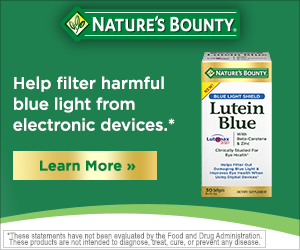 Nature's Bounty, Inc. campaigns first seen Feb 2018.