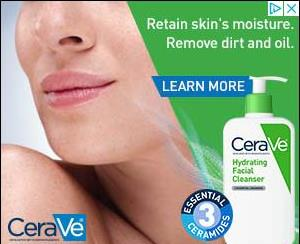 CeraVe campaigns first seen Jul 2018.