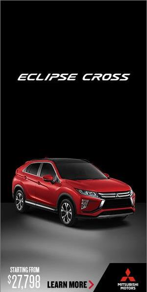 Mitsubishi Motors Corporation campaigns first seen Mar 2018.