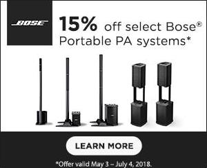 Bose Corporation campaigns first seen May 2018.