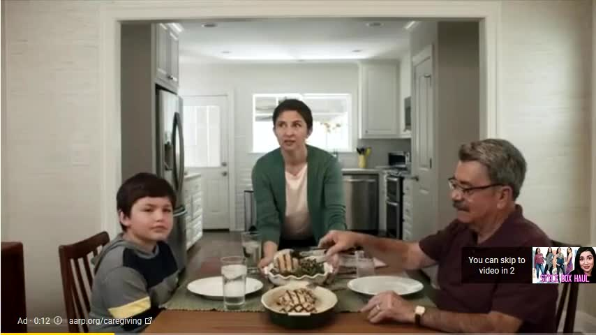 AARP, Inc. campaigns first seen May 2018.